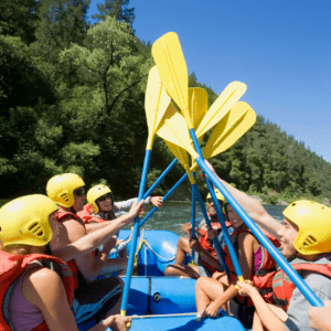 Blue River Rafting Half Day Trips