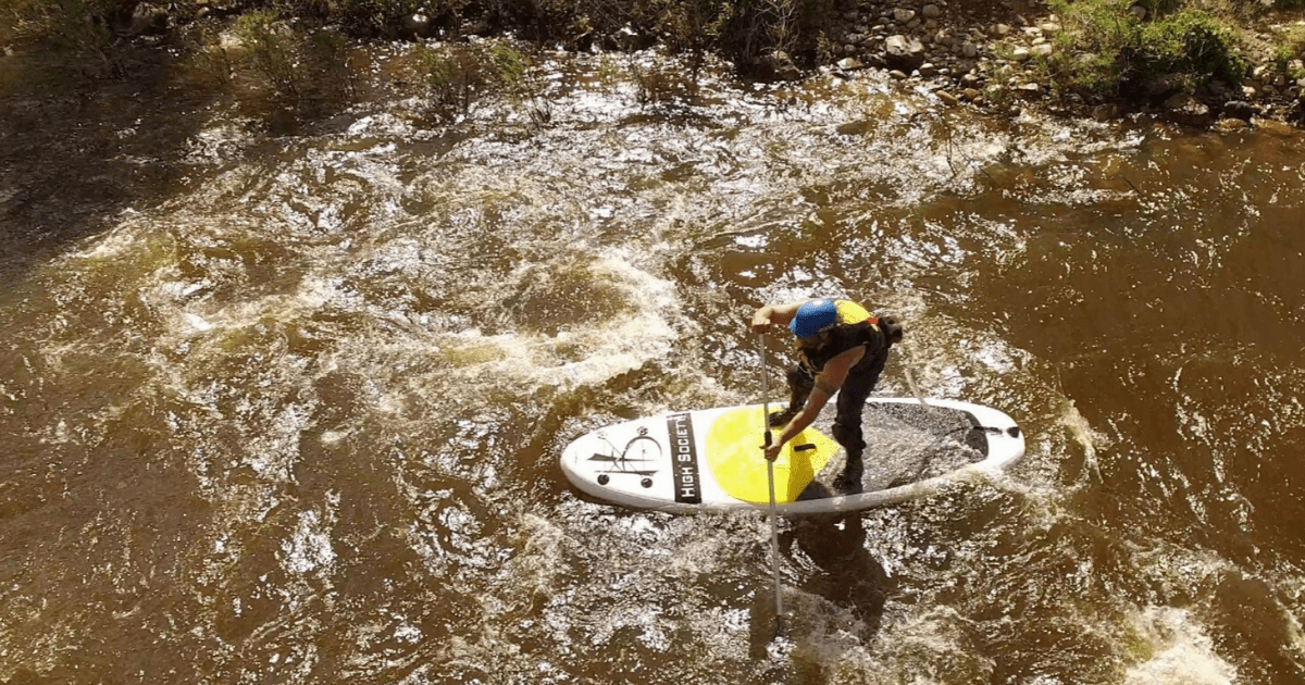 Stand Up Paddle Boarding River Trips