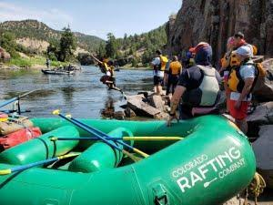 Beginner Rafting on the Colorado River