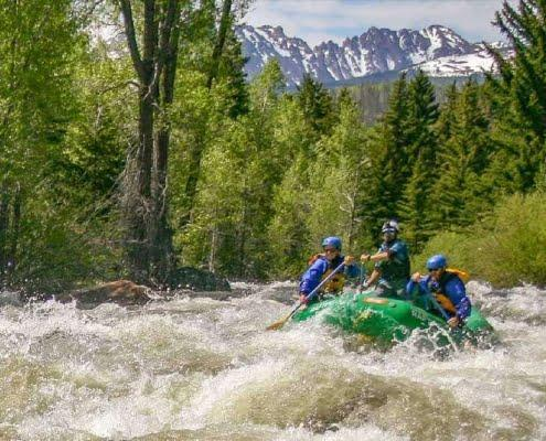 Blue River Rafting Trips